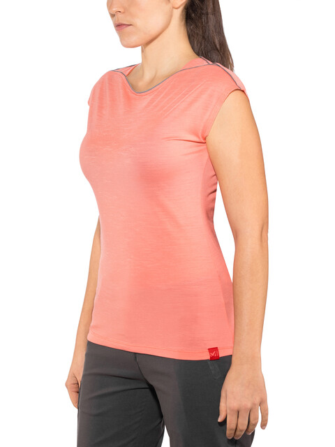 Millet Cloud Peak t-shirt Dames rood